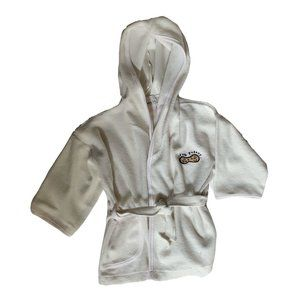 New Little Peanut Cream Baby Hooded Bath Robe